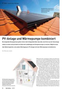 PV-Anlage und Wärmepumpe kombiniert