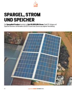 Auf dem Dach des Frenkenhofs wurde eine Photovoltaikanlage installiert, die den Großteil des Stroms deckt